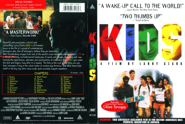 Kids (1995) Front Cover